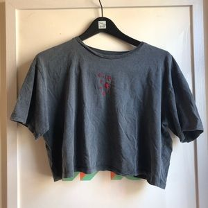 Cropped Believer Tee